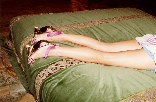 Pucci print ad shoes