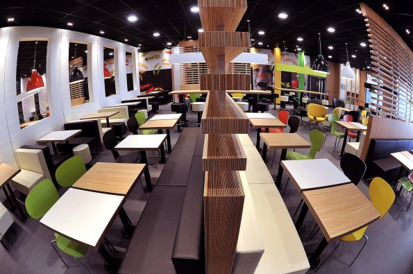 McDonald's sneak preview of world-first sustainable restaurant